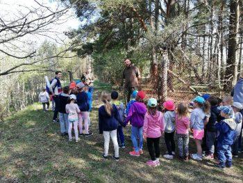 Przedszkolaki na tropie leśnych przygód :)