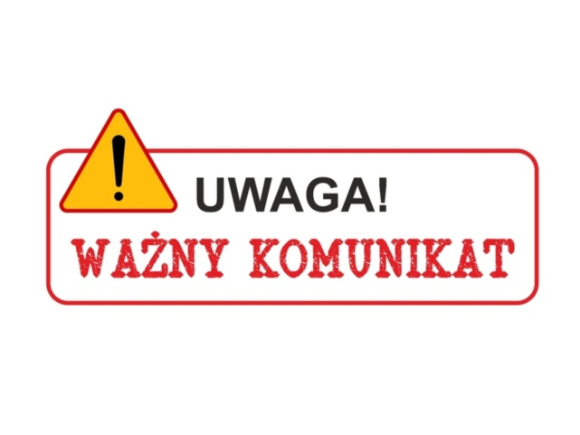 Informacja – placówka zamknięta do 15 maja 2020 r.